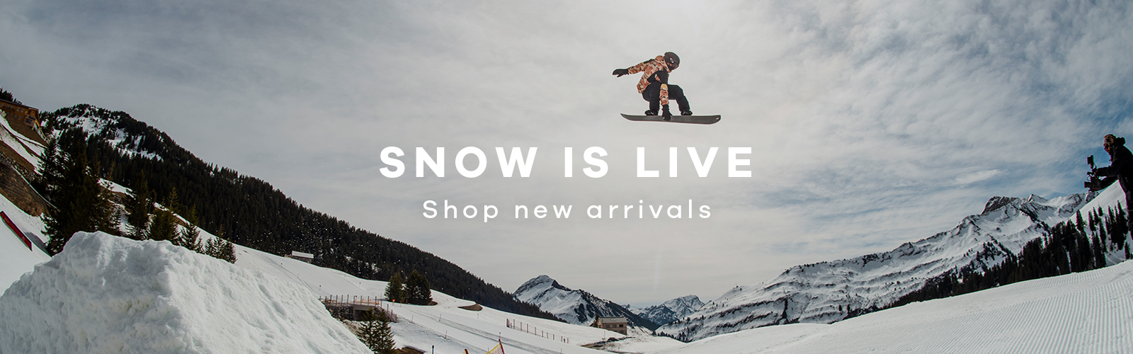 SNOW IS LIVE   Shop new arrivals