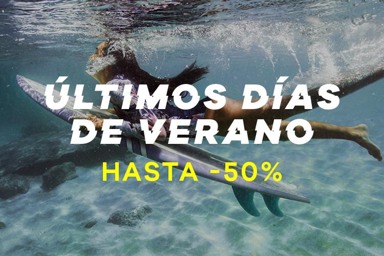 últimos días de verano | Hasta -50%