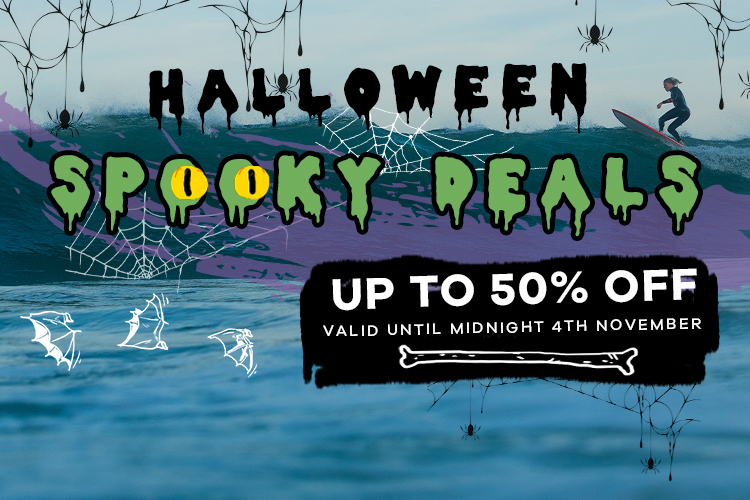 Halloween Spooky Deals   Up to 50% off   Valid until midnight 4th November