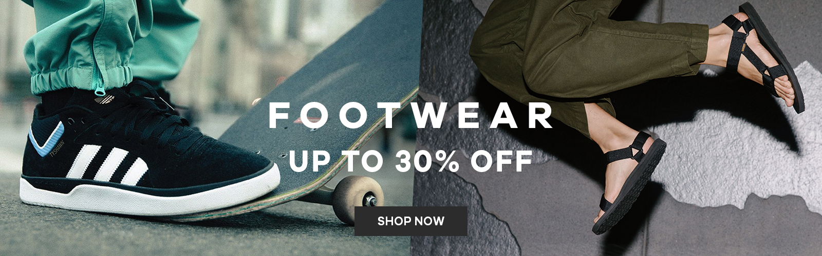 Footwear   Up to 30% off