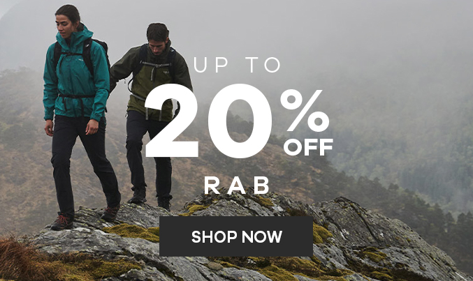 Rab   Up to 20% off