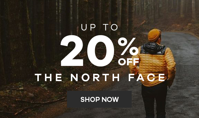 The North Face   Up to 20% off