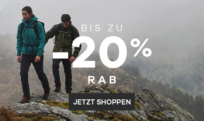 Rab   Bis zu -20%