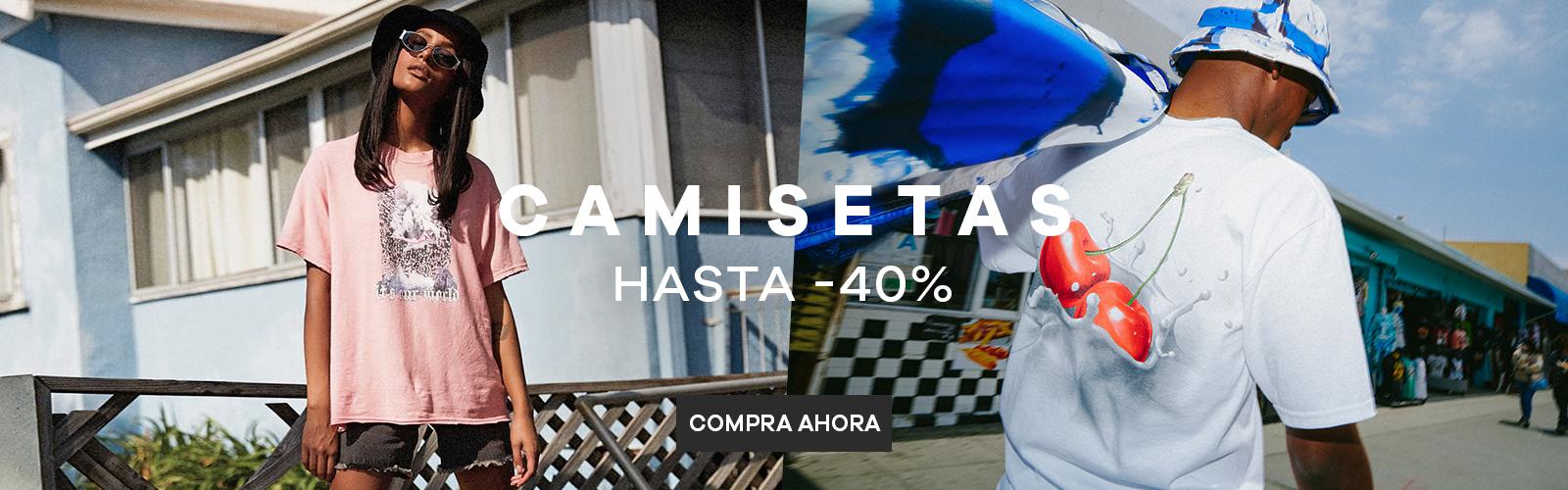 Camisetas | Hasta -40%
