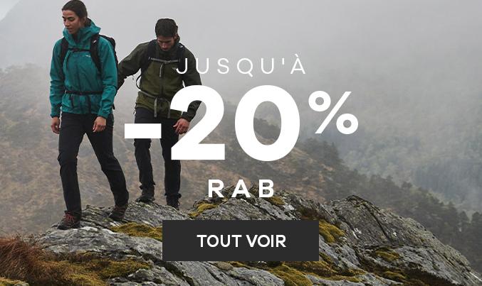Rab | Jusqu'à -20%