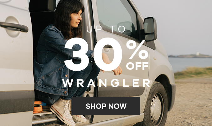 Wrangler   Up to 30% off