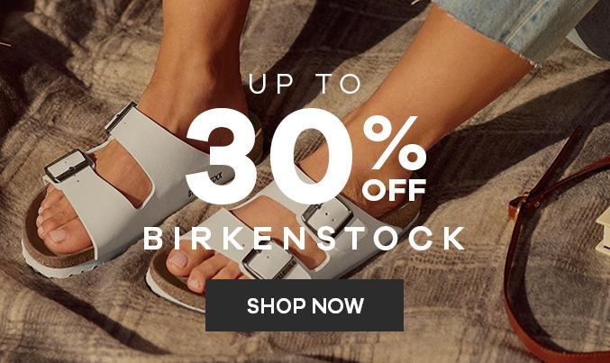 Birkenstock   Up to 30% off